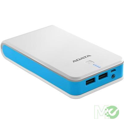MX70040 P20100 20,100 mAh PowerBank, White / Blue