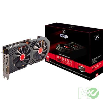 MX70177 Radeon RX 580 GTS Black Edition 8GB PCI-E w/ HDMI, DVI, Triple DP