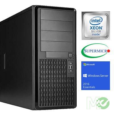 MX70210 V_ST2000I Server System w/ Xeon Silver 4108, 32GB ECC Reg, 480GB SSD, DVD+/-RW, Win Server 2016 Essentials