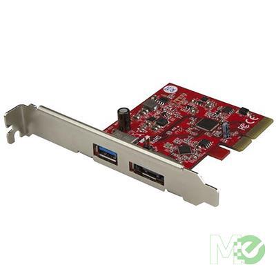 MX70216 2-Port USB 3.1 eSATA PCI-E Controller Card