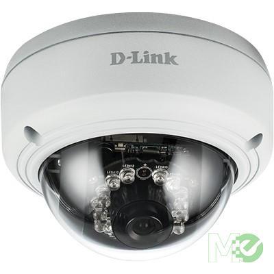 MX70374 DCS-4603 3MP Indoor PoE Dome Day / Night Network Camera w/ IR LED Lighting