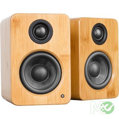 MX70457 YU2 Speaker System, Bamboo