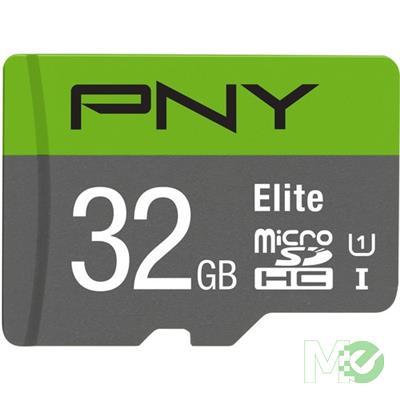 MX70866 Elite MicroSDHC Card w/ Adapter, Class 10 UHS-I, 32GB
