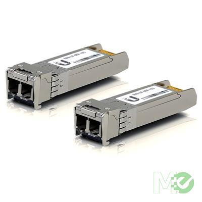 MX71039 FiberModule™ 10GBASE-SR SFP+ 850nm to Multi Mode LC Adapter Module, 2 Pack