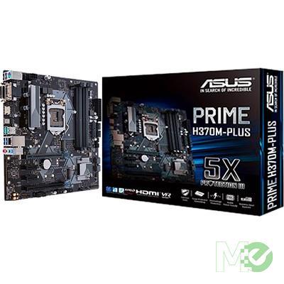 MX71235 Prime H370M-Plus/CSM w/ DDR4-2666, 7.1 Audio, Dual M.2, Gigabit LAN, AMD CrossFireX