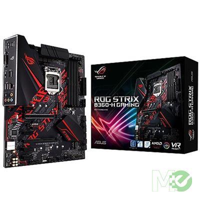 MX71237 Strix B360-H Gaming w/ DDR4-2666, 7.1 Audio, Dual M.2, Gigabit LAN, AMD CrossfireX 2-Way