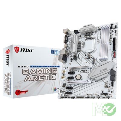 MX71262 B360 GAMING ARCTIC w/ DDR4-2666, 7.1 Audio, Gigabit LAN, CrossFireX