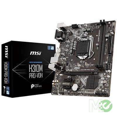 MX71278 H310M PRO-VDH w/ DDR4-2666, 7.1 Audio, Gigabit LAN, PCI-E x16