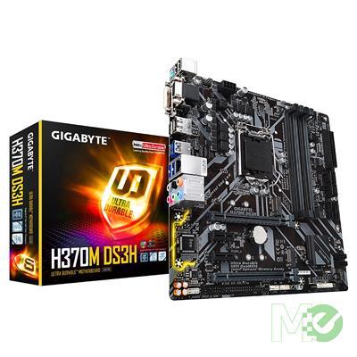 MX71333 H370M DS3H w/ DDR4 2666, 7.1 Audio, Dual M.2, Gigabit LAN, CrossFireX