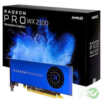 MX71625 Radeon™ Pro WX 2100 Workstation Graphics Card 2GB PCI-E w/ Triple DP