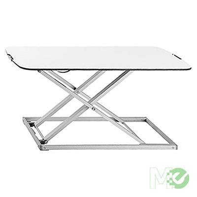 MX71789 EZUP3213 EZUP SLIM Height Adjustable Standing Desk, White