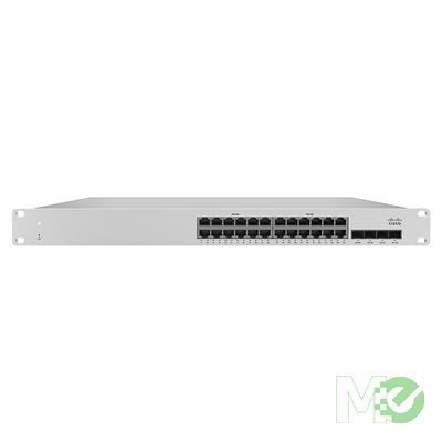 MX72024 MS210-24P-HW 24 Port Gigabit Switch w/ 4x 1Gb SPF Ports, 370W PoE Budget