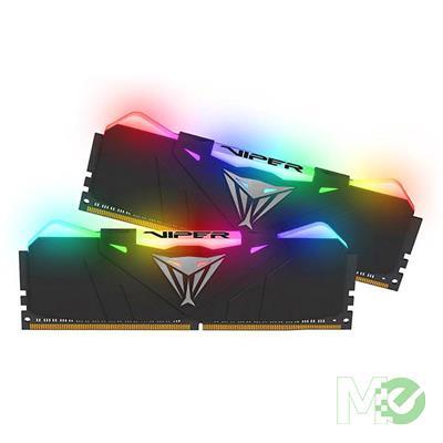 MX72041 Viper RGB 16GB DDR4 2666MHz Dual Channel Kit (2x 8GB), Black