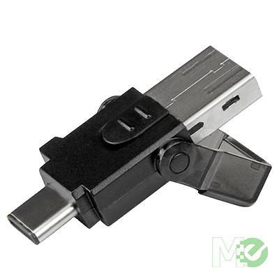 MX72155 microSD Card Reader w/ USB 3.0 Type-C & USB 3.0 Type-A ports