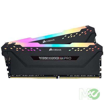 MX72287 Vengeance RGB Pro 16GB DDR4 2666MHz CL16 Dual Channel Kit (2 x 8GB), Black
