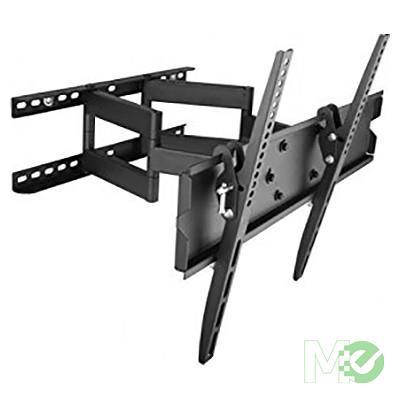 Techly Dual Arm Tilt Swivel Wall Bracket For Large 42 70
