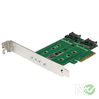 MX72360 3-Port M.2 SSD (NGFF) Adapter Card