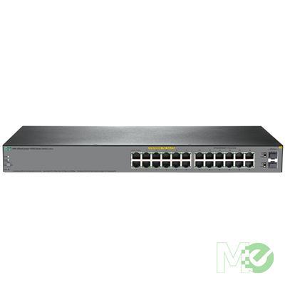 MX72597 HPE OfficeConnect 1920s 24G 24-Port PPoE+ 185W Gigabit Switch w/ 2x SFP Ports