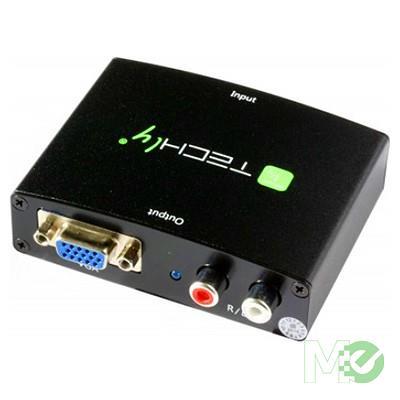 MX72732 HDMI to VGA w/ Stereo Audio Converter