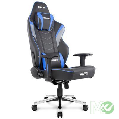 MX72778 Masters Series Max Gaming Chair, Black / Blue