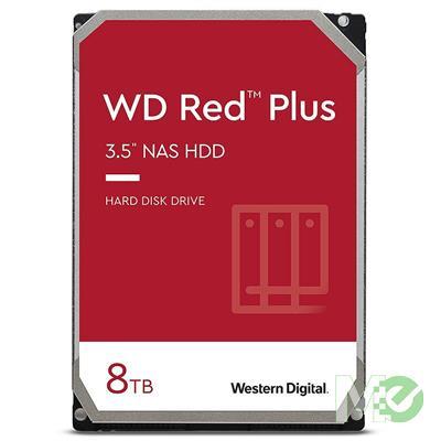 MX72870 RED Plus 8TB NAS Desktop Hard Drive, SATA III w/ 256MB Cache