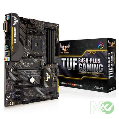 MX72927 TUF B450-PLUS GAMING w/ DDR4-2666, 7.1 Audio, Gigabit LAN, CrossFire