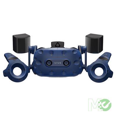 MX73010 Vive Pro VR Kit w/ Vive Pro HMD, 2x Vive Pro Blue Controllers, 2x SteamVR Base Stations, Headset, Link Box