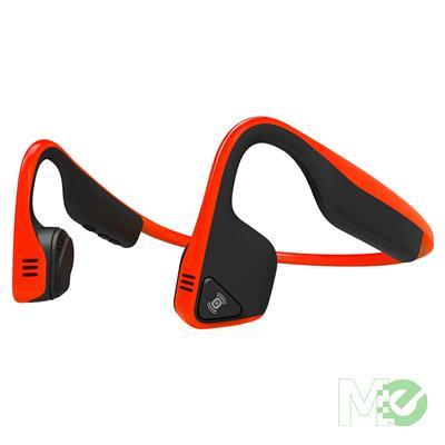 MX73064 Trekz Titanium Bluetooth Bone Conduction Stereo Headphones, Red
