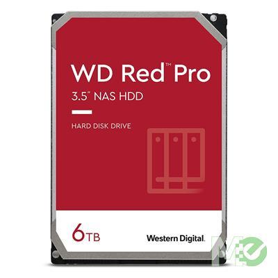 MX73391 RED Pro 6TB NAS Desktop Hard Drive, SATA III w/ 256MB Cache