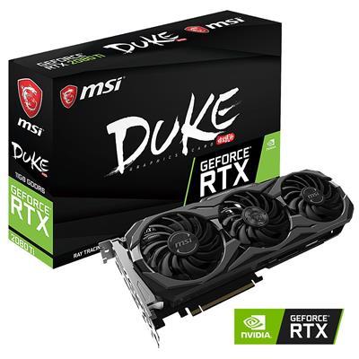 MX73399 GeForce RTX 2080 Ti DUKE 11GB OC PCI-E w/ HDMI, Triple DP, USB-C