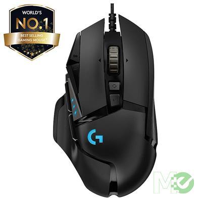 MX73448 G502 Hero RGB Gaming Mouse, Black