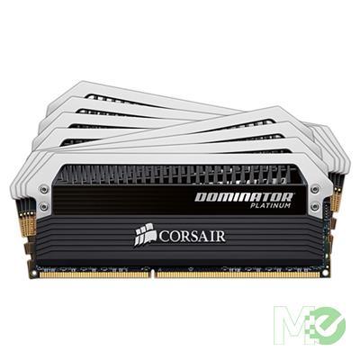 MX73635 Dominator Platinum 64GB DDR4 3300MHz CL16 Quad Channel Kit (8x 8GB), w/ Dual Dominator Airflow Platinum LED Fans