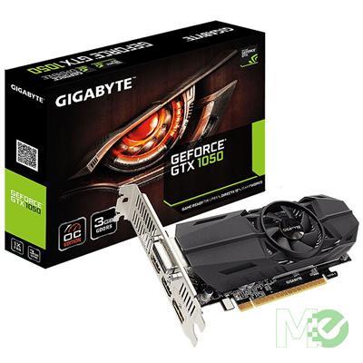 MX73640 GeForce GTX 1050 OC Low Profile 3GB PCI-E w/ 2x HDMI, DisplayPort, DVI