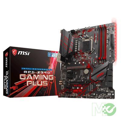 MX73812 MPG Z390 GAMING PLUS w/ DDR4 2666, 7.1 Audio, Dual M.2, Gigabit LAN, 2-Way CrossFireX