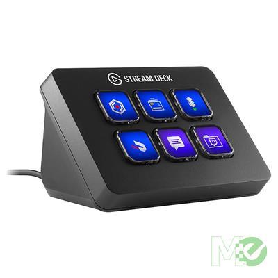 MX73871 Stream Deck Mini Keyboard w/ 6 Programmable Color LCD Keys