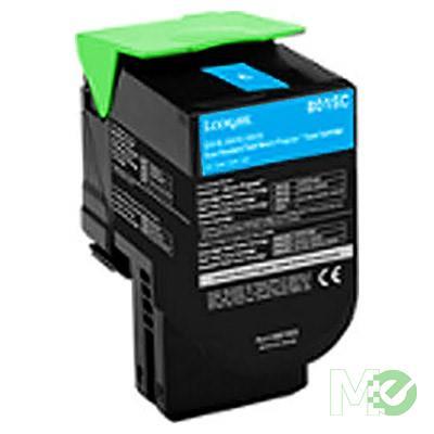 MX73890 Toner C231HC0 High-Yield Return Program Toner Cartridge, Cyan