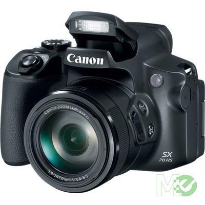 MX73914 PowerShot SX70 HS Digital Camera, Black