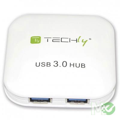 MX74011 4-Port USB 3.0 Super Speed Hub, White