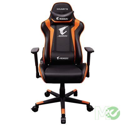 MX74012 AORUS AGC300 Gaming Chair, Black / Orange