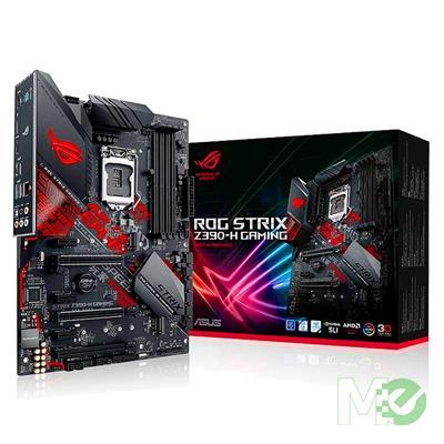MX74031 ROG Strix Z390-H Gaming w/ DDR4 2666, 7.1 Audio, Dual M.2, Gigabit LAN, 3-Way CrossFireX / 2-Way SLI