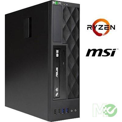 MX74106 VT2000A Home PC w/ Ryzen™ 5 2400G, 8GB, 240GB SSD + 1TB HDD, DVD±RW, 802.11ac, Bluetooth v4.0, Windows 10 Home