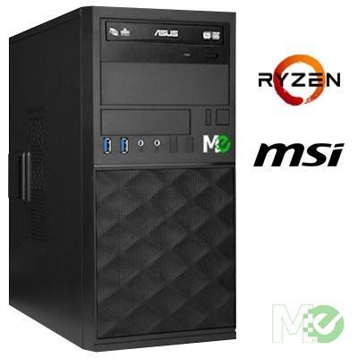 MX74107 VT3000A Home PC w/ Ryzen™ 7 2700, 16GB, 480GB SSD + 1TB HDD, DVD±RW, 802.11ac, Bluetooth v4.0, Windows 10 Home