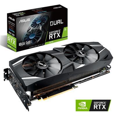 MX74263 DUAL RTX2070 GeForce RTX 2070 8GB PCI-E w/ HDMI, Triple DP, USB-C