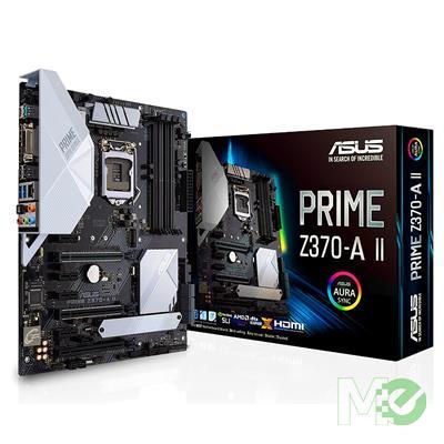 MX74318 PRIME Z370-A II ATX Motherboard w/ DDR4 2133, 7.1 Audio, Dual M.2, Gigabit LAN,  3-Way CrossFire / 2-Way SLI Modes