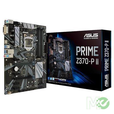 MX74324 PRIME Z370-P II Motherboard w/ DDR4 2666, 7.1 Audio, Dual M.2, Gigabit LAN,  3-Way CrossFire / 2-Way SLI Modes