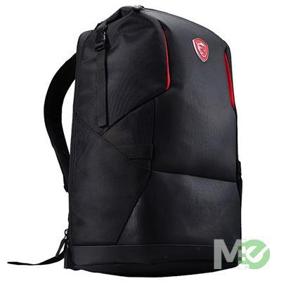 MX74514 Urban Raider Gaming Backpack, 17in, Black