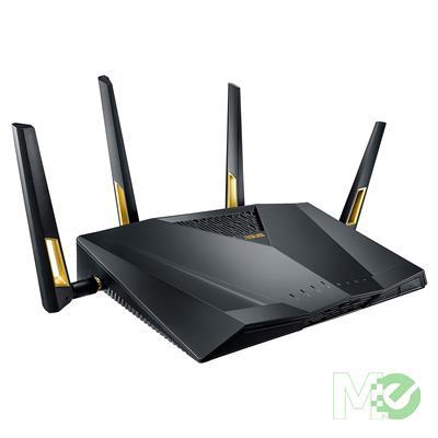 MX74696 RT-AX88U AX6000 Dual Band 802.11ax Router w/ MU-MIMO, OFDMA, 4 Antennas