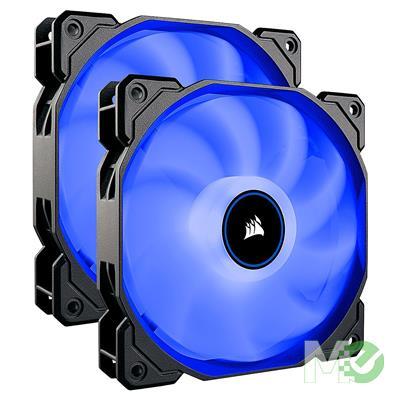 MX74713 Air Series™ AF140 LED 140mm Fan, Dual Pack w/ Blue LEDs