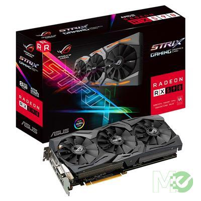 MX74747 ROG STRIX RX590 GAMING Radeon RX 590 8GB PCI-E w/ Dual DP, Dual HDMI, DVI