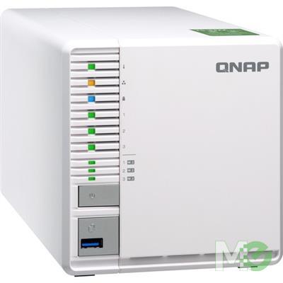 Qnap TS-332X 3-Bay NAS w/ 4GB RAM - Network Attached Storage